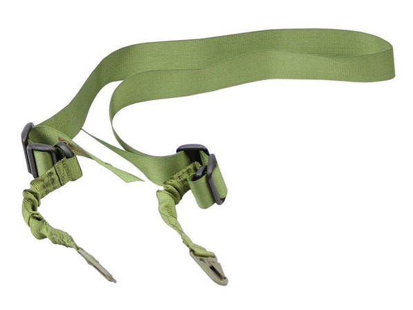 Black Knight OD Double Point Tactical Bungee Sling