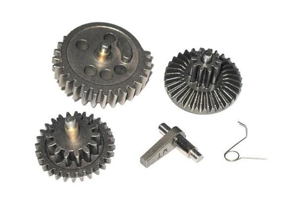 WII TECH Airsoft EBB Hardened High Speed Gear Set For 455mm or Less Barrels