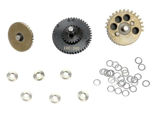 Black Knight Reinforced 4mm Shaft High Torque Gear Set 100300