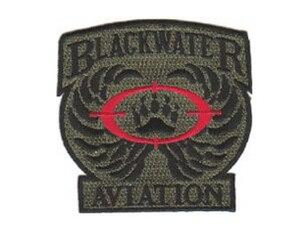 Raptors Tactical 3 Blackwater Aviation Patch Military Insignia