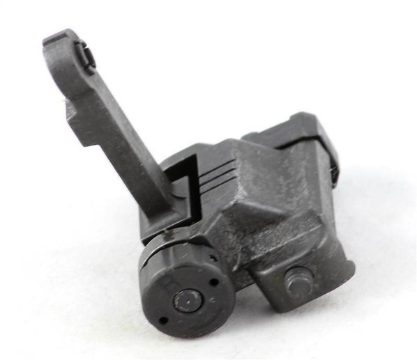 SHS Airsoft Tactical 300m Flip Up Rear Sight For 20mm Rail