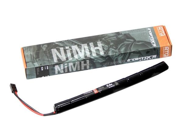Raptors Airsoft RTQ AK NiMH 1600mah 9.6v Stick Battery - 1 Year Warranty