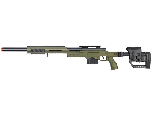 Well MB4410G Bolt Action Sniper Rifle with RIS and Folding Sniper Stock