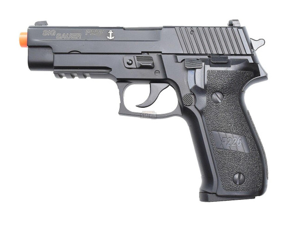 Sig Sauer P226 Navy Green Gas Blowback Airsoft Pistol, CO2 Compatible