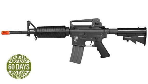 High Velocity Elite Force M4A1 AEG Black Airsoft Rifle