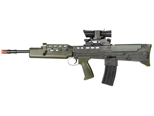 HFC Spring Powered L85 A1 Airsoft Rifle with Scope