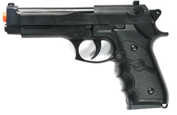 M9 Style Airsoft Spring Pistol - Black
