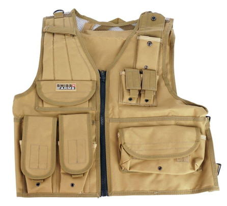 Swiss Arms Tactical Vest - Tan