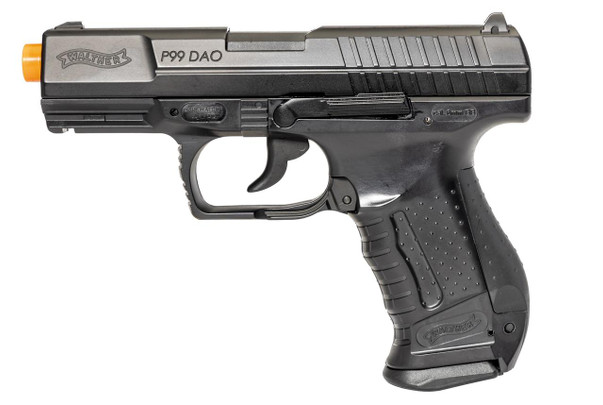 Walther P99 CO2 Blowback Airsoft Pistol, Gen 2 with Metal Slide and 2 Magazines