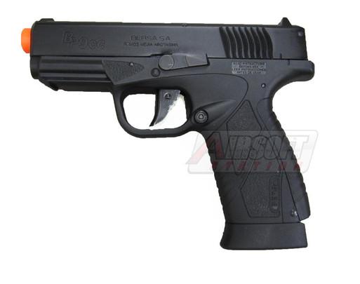 BERSA BP9CC CO2 Airsoft Pistol by ASG, Non-Blowback