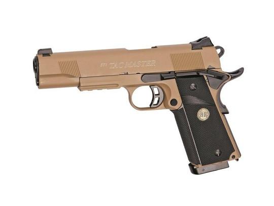 STI Tac Master Full Metal CO2 Blowback Airsoft Pistol Desert Tan - REFURBISHED
