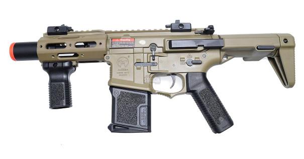 ARES Amoeba Micro CQB Airsoft Rifle, Tan