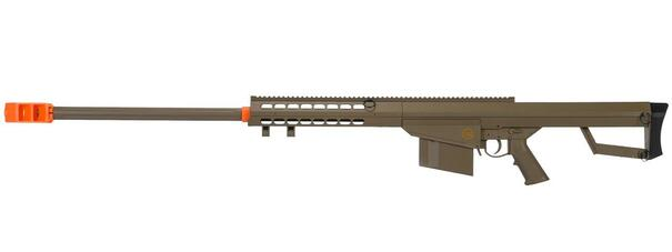 Lancer Tactical M82 .50-Cal Spring Airsoft Sniper Rifle, Tan