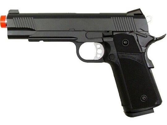 KJW Tactical 1911 Full Metal Semi Auto Gas/CO2 Blowback Pistol