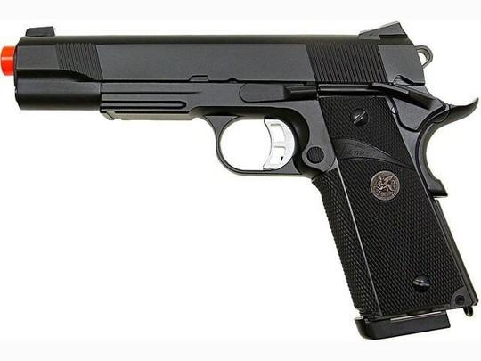 KJW MEU 191 Full Metal Semi Auto Gas/CO2 Blowback Pistol
