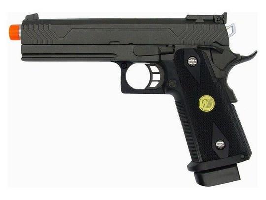 WE Hi-Capa 5.1 V3 Full Metal Semi Auto Gas/CO2 Blowback Pistol
