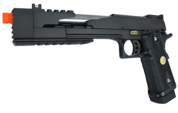 WE Hi-Capa 7 Dragon Full Metal Semi Auto Gas/CO2 Compensated Blowback Pistol