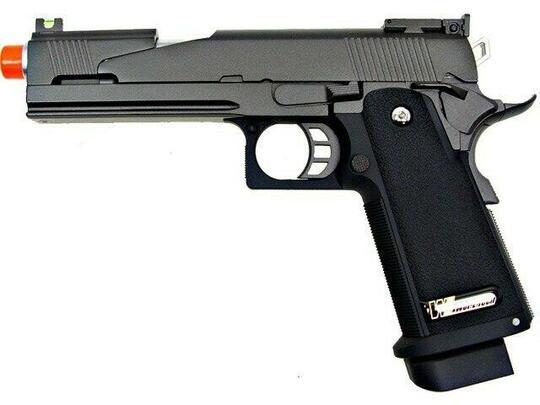 WE Hi-Capa 5.1 V5 Full Metal Semi Auto Gas/CO2 Blowback Pistol