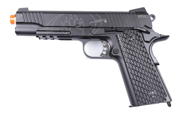 Blackwater Full Metal BW 1911 R2 Tactical CO2 Blowback Airsoft Pistol