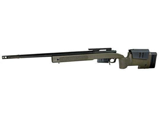 McMillan M40A5 Gas-Powered Airsoft Sniper Rifle, OD/Black