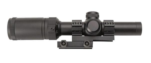 Valken Tactical 1-4x20 Variable Zoom Mil-Dot Illuminated Scope