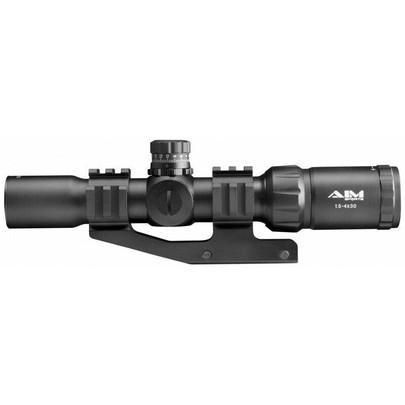 Aim Sports 1.5-4x30 Mil-Dot CQB Rifle Scope