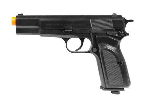 Browning Mark III HI Power CO2 Airsoft Pistol, Black