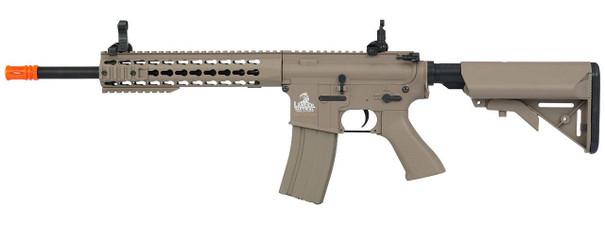 Lancer Tactical 10 Keymod M4 Airsoft AEG, Tan - REFURBISHED