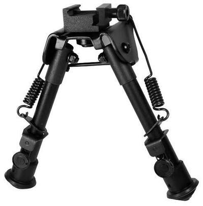 Leapers UTG Tactical OP Bipod, SWAT/Combat Profile, Telescoping and Folding Legs