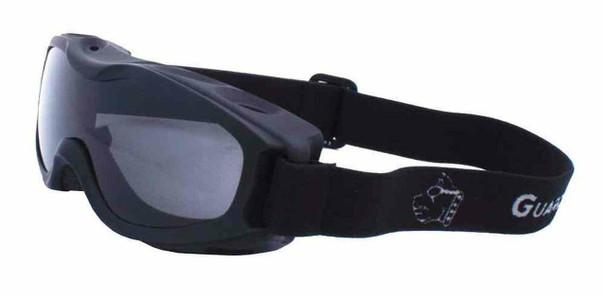 GUARD DOGS Evader II Black Framed Anti-Fog Smoke Lense Goggles