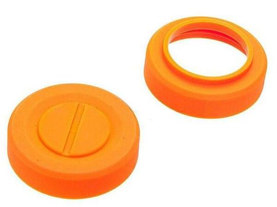 Hakkatsu Thunder B and Valken Thunder V Cylinder C Flashbang Cover Caps, Orange