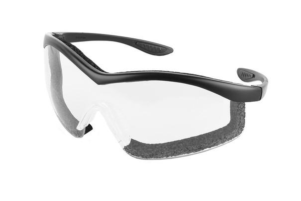 Guard Dogs Glasses Purebred Extreme Black Frame Clear Lens