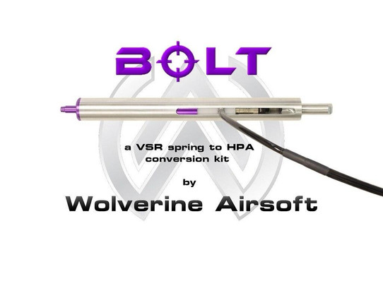 Wolverine Airsoft BOLT HPA Sniper Rifle Conversion Kit - JG BAR10
