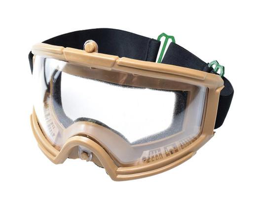 AMP Tactical Airsoft Protective Goggles, Tan
