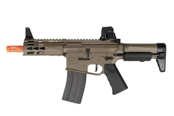 Krytac Trident PDW MK2 CQB AEG Airsoft Rifle, Tan/FDE