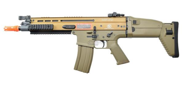 FN Herstal SCAR-L Airsoft Metal/Polymer AEG Rifle, Tan