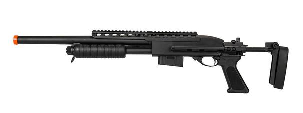 AandK M870 Tactical Spring-Powered Metal Shotgun