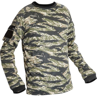 Valken V-Tac Kilo Combat Shirt - Vietnam Tiger Stripe Camo