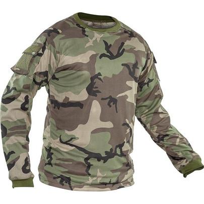 Valken V-Tac Kilo Combat Shirt - Woodland M81 Camo
