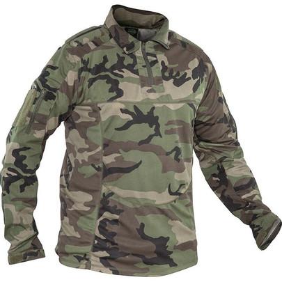 Valken V-Tac Tango Combat Shirt - M81 Woodland Camo