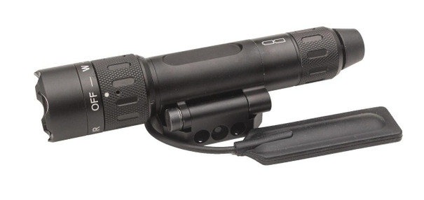 Insight WMX200 Flashlight, Rotational Fold, Black