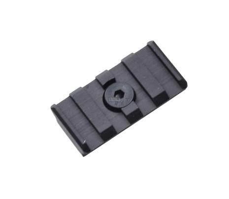 UTG PRO M-LOK 4-Slot Picatinny/Weaver/20mm Rail Section for Magpul MLOK Rails