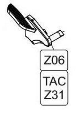 Elite Force/KWC 1911 TAC CO2 Blowback Airsoft Pistol Safety Left Portion
