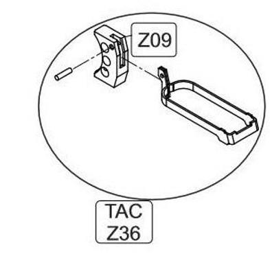 Elite Force/KWC 1911 TAC CO2 Blowback Airsoft Pistol Complete Trigger