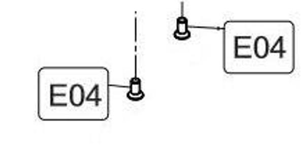Elite Force/KWC 1911 CO2 Blowback Airsoft Pistol Rear Sight Screws 2 Screws