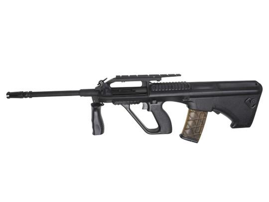 Steyr AUG A2 AEG Airsoft Rifle, Proline Black Bullpup by ASG