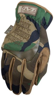 Mechanix FastFit Tactical Gloves, Woodland