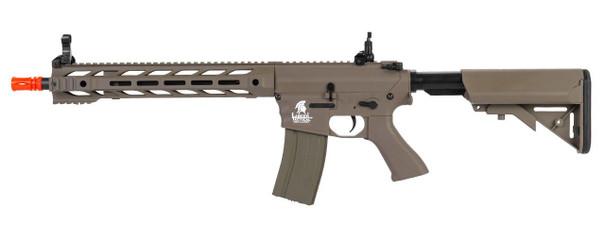 Lancer Tactical Interceptor M4 Airsoft Rifle AEG, Tan