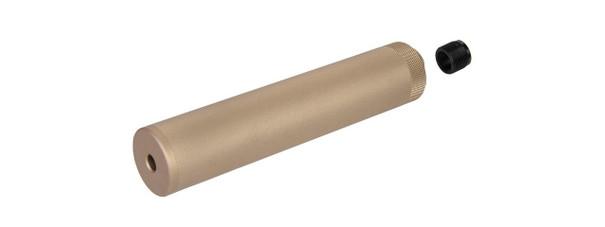 Specwar-I F38X228.6MM Style Aluminum Mock Silencer, 14mm CCW - Tan