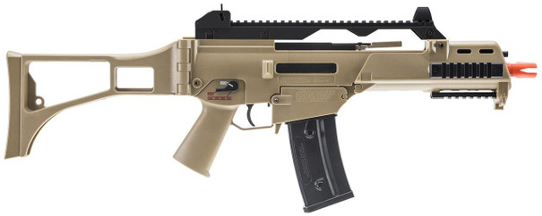 HandK G36C Competition Series Airsoft Rifle, Tan